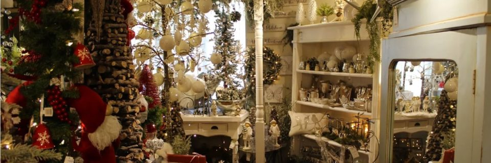Pick up all your holiday decor at Seasons gift shop